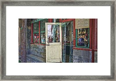 Old Shop Framed Print by Barb Hauxwell