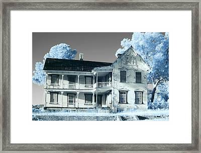 Old Shull House In 642 Framed Print