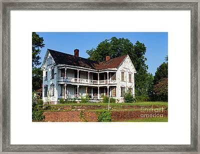 Old Shull Mansion Framed Print