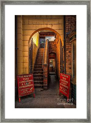 Old Signs Framed Print