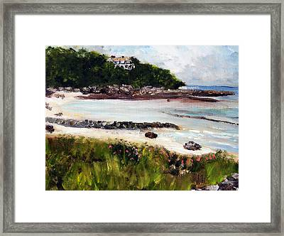 Old Silver Beach Falmouth Framed Print