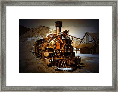Old Silverton Framed Print by David Lee Thompson