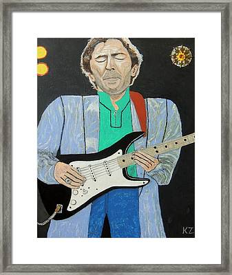 Old Slowhand. Framed Print by Ken Zabel