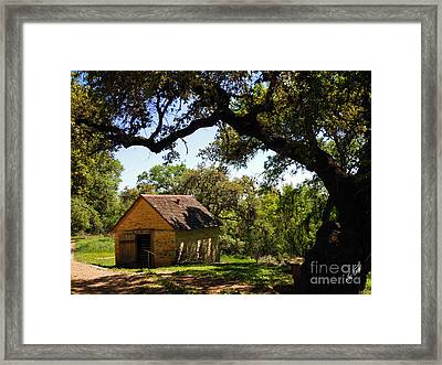 Old Smokehouse Framed Print