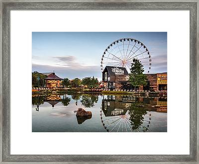 Ole Smoky Tennessee Moonshine Reflection Framed Print