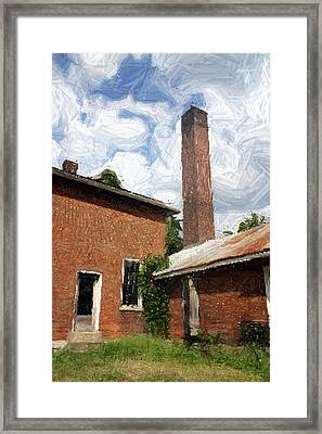 Old Southern Star Mill 2 - Perryville Ky Framed Print
