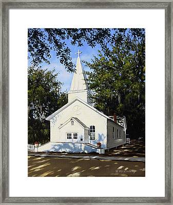 Old St. Andrew Church Framed Print by Rick McKinney