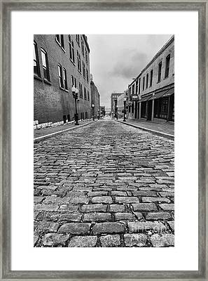 Old St. Louis Street Framed Print by Scott Nelson