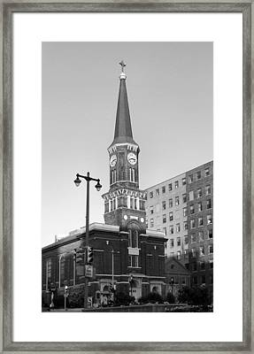 Old St. Mary's Church Framed Print by Steven Ainsworth