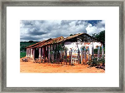 Old Stable Framed Print by Amarildo Correa