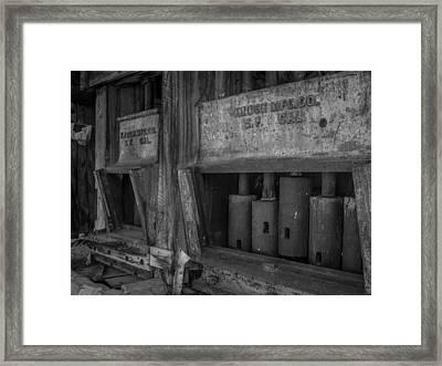 Gray's Stamp Mill Framed Print