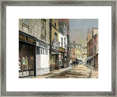 Old St.ebbes Oxford Framed Print by Mike Lester