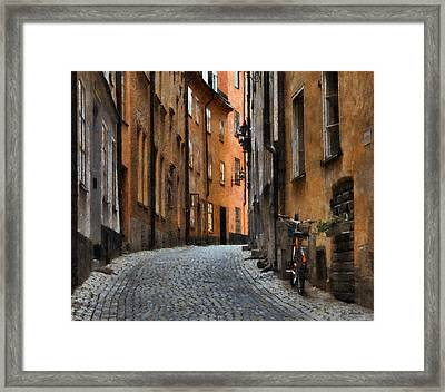 Old Stockholm Framed Print by Joe Bonita