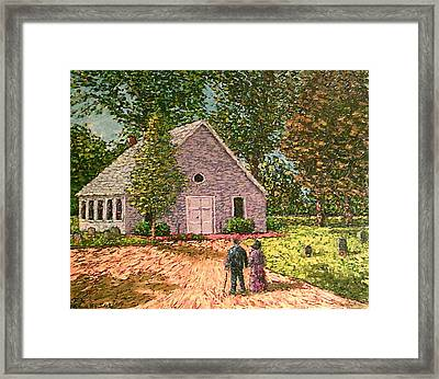 Old Stome Church Framed Print by Frank Morrison