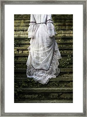Old Stone Stairs Framed Print