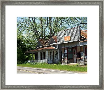 Old Store Framed Print by Marty Koch