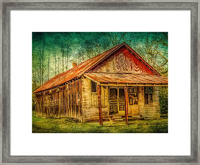 Old Store Framed Print by Phillip Burrow