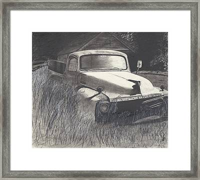 Old Studebaker Framed Print