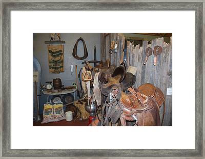 Old Stuff Framed Print by Sergey  Nassyrov