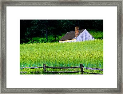 Old Sturbridge Farm Framed Print by Belinda Dodd