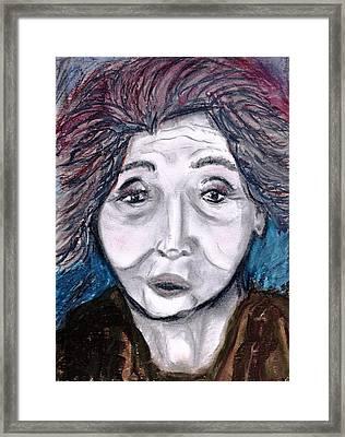 Old Suchi Framed Print by JuneFelicia Bennett
