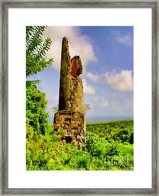 Old Sugar Mill Framed Print by Louise Fahy