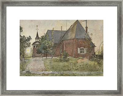 Old Sundborn Church. From A Home Framed Print