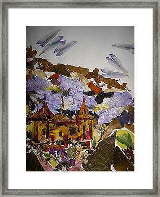 Old Temples Framed Print by Basant Soni