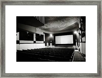 Old Theatre 3 Framed Print by Marilyn Hunt