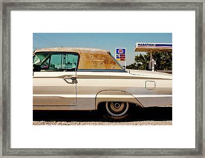 Old Thunderbird Framed Print by Chris Fender