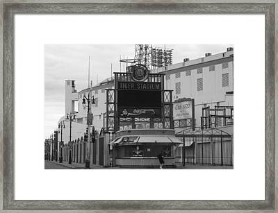 Old Tiger Stadium  Framed Print by Sabrina  Hall