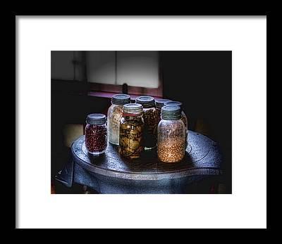 Canned Goods Framed Prints