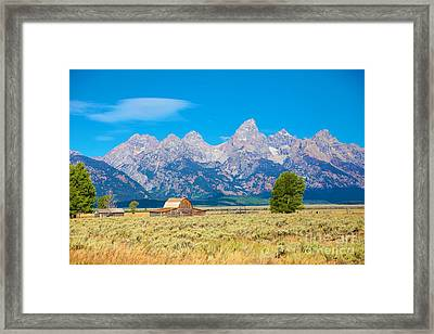 Framed Print featuring the photograph Old Time Community by Robert Pearson