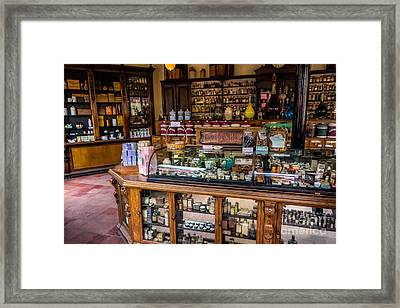 Old Time Cures Framed Print by Adrian Evans