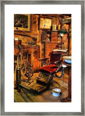 Old Time Dentist Office -  Dentistry -  Surgery - II Framed Print by Lee Dos Santos