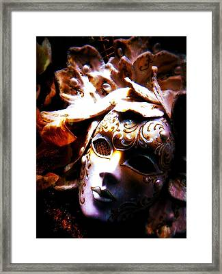 Old Time Masquerade Framed Print