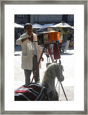 Old Time Photogaphy Framed Print by Charles  Ridgway