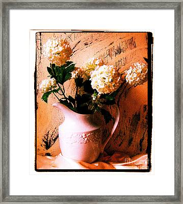 Old Time Picture Framed Print by Marsha Heiken