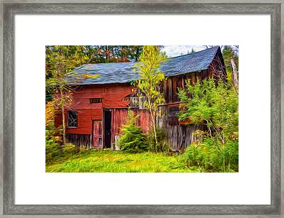 Old Timer 3 - Paint Framed Print