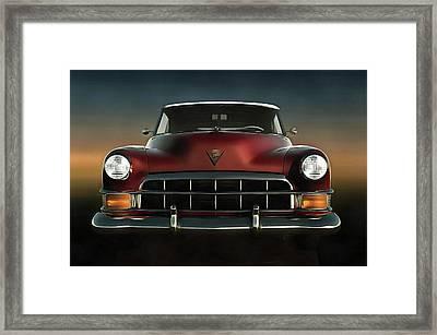Old-timer Cadillac Convertible Framed Print