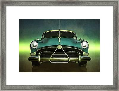 Old-timer Hudson Hornet Framed Print
