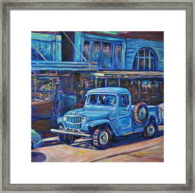 Old Timer Framed Print by Li Newton