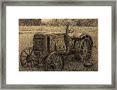 Old Timer Framed Print by Terry Perham