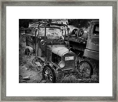 Old Times 2 Framed Print by Perry Webster