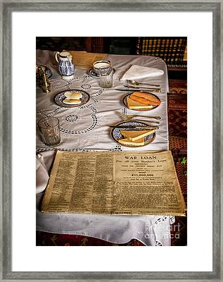 Old Times Framed Print by Adrian Evans