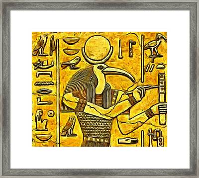 Old Times Framed Print by Leonardo Digenio