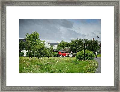 Old Times Framed Print by Mirra Photography