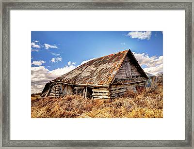 Old Times Framed Print by Ryan Crouse