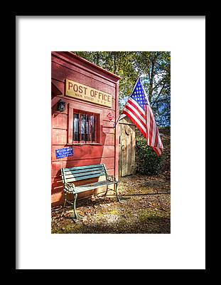 Postoffices Framed Prints