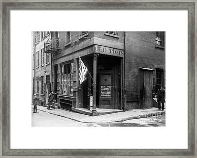 Old Tom's Saloon Framed Print by Jon Neidert